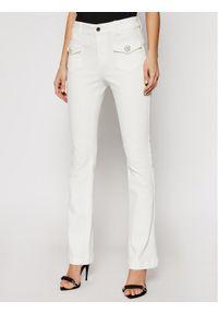 Białe jeansy bootcut Morgan De Toi