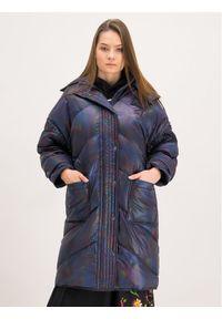 Niebieska kurtka zimowa MCQ Alexander McQueen