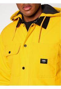Żółta kurtka przejściowa Vans