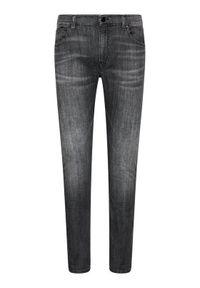 Karl Lagerfeld - KARL LAGERFELD Jeansy 5-Pocket 265801 511833 Szary Slim Fit. Kolor: szary #3