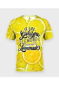 MegaKoszulki - Legginsy damskie fullprint Lemonade. Okazja: na co dzień. Wzór: nadruk. Sezon: lato. Styl: casual