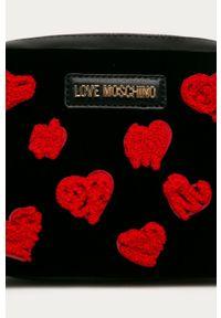 Czarna listonoszka Love Moschino na ramię, mała