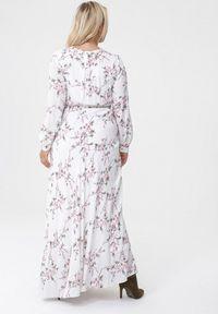 Biała długa sukienka Born2be