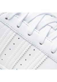 Adidas - Buty adidas - Superstar W FV3285 Ftwwht/Ftwwht/Ftwwht. Kolor: biały. Materiał: skóra