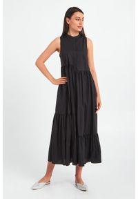 Sukienka TwinSet asymetryczna, midi, bez rękawów