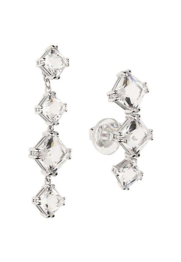 Swarovski Kolczyki Millenia 5602782 Srebrny. Materiał: srebrne. Kolor: srebrny