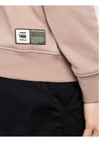 G-Star RAW - G-Star Raw Bluza D16468-A971-B113 Brązowy Regular Fit. Kolor: brązowy