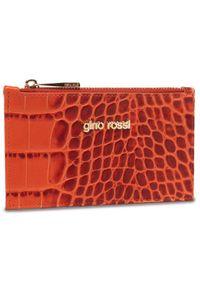 Pomarańczowy portfel Gino Rossi