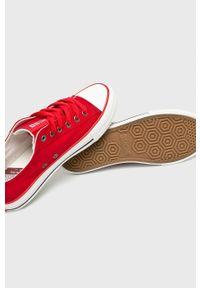Big-Star - Big Star - Tenisówki. Nosek buta: okrągły. Kolor: czerwony