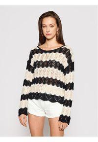 Kontatto Sweter 3M7250 Kolorowy Regular Fit. Wzór: kolorowy