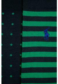 Niebieskie skarpetki Polo Ralph Lauren