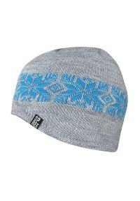 Szara czapka Spree na zimę, sportowa