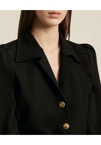 Luisa Spagnoli - LUISA SPAGNOLI - Czarny kombinezon Gerald. Kolor: czarny. Materiał: wiskoza, materiał