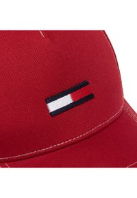 Czerwona czapka z daszkiem TOMMY HILFIGER