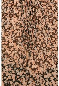 Vila - Sukienka. Kolor: czarny. Materiał: tkanina, poliester