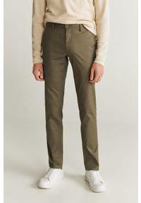 Złote spodnie Mango Man