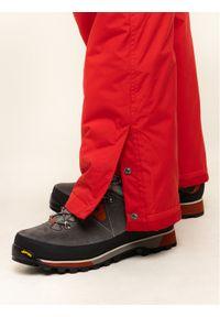 Czerwone spodnie sportowe columbia narciarskie