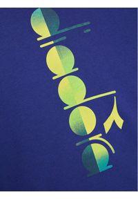 Diadora Bluza Jb. Sweatshirt Crew Diadora Club 102.177125 Granatowy Comfort Fit. Kolor: niebieski