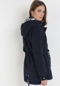 Niebieska kurtka przejściowa Born2be #6