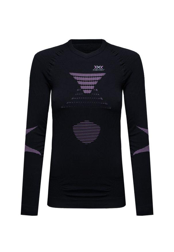 Czarna koszulka termoaktywna X-Bionic wspinaczkowa
