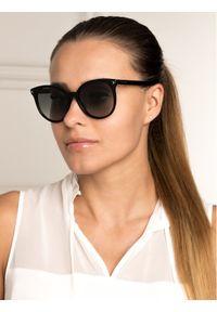 Czarne okulary przeciwsłoneczne Givenchy