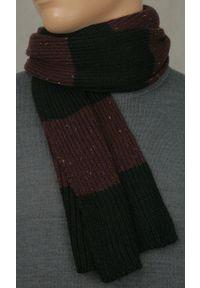 Szalik Adriano Guinari na zimę, w paski, klasyczny