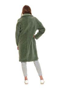 Miętowy płaszcz TOP SECRET