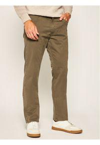 Zielone spodnie Wrangler