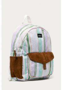 Roxy - Plecak. Kolor: biały. Materiał: poliester