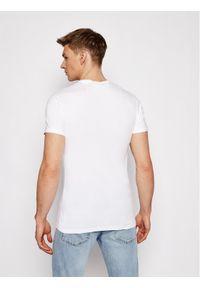 Biały t-shirt VERSACE