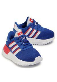 Niebieskie półbuty Adidas