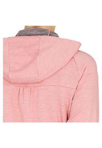Bluza damska z kapturem Energetics 294611. Typ kołnierza: kaptur. Materiał: poliester, materiał, elastan. Długość: długie