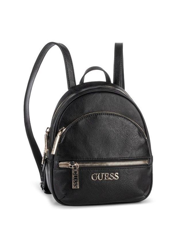 Czarny plecak Guess