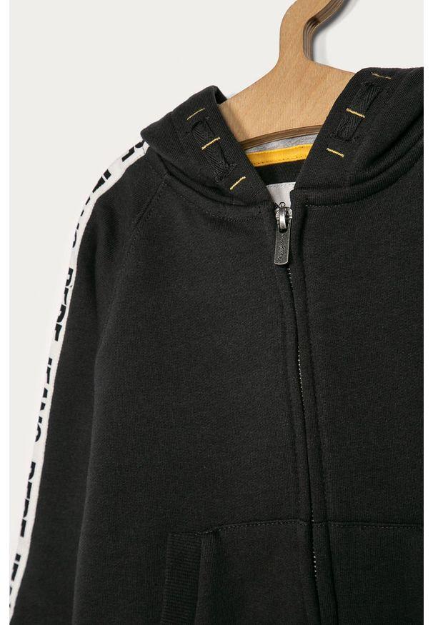 Szara bluza rozpinana Pepe Jeans casualowa, raglanowy rękaw, na co dzień, z aplikacjami