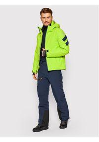 Zielona kurtka sportowa Rossignol narciarska