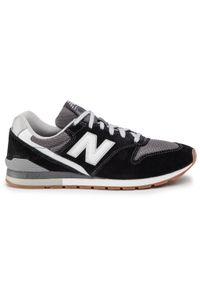 Czarne buty sportowe New Balance na co dzień, z cholewką