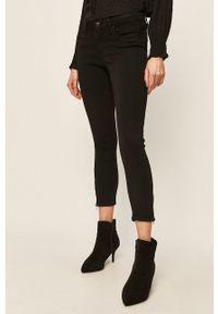 Czarne jeansy Noisy may w kolorowe wzory