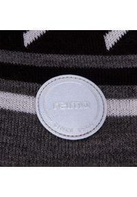 Reima - Czapka REIMA - Kohva 528665 9401. Kolor: szary. Materiał: wełna, akryl, materiał #3