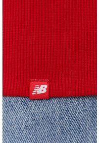New Balance - Bluza. Kolor: czerwony