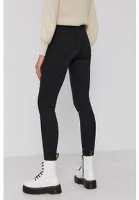 Calvin Klein Jeans - Jeansy. Stan: podwyższony. Kolor: czarny