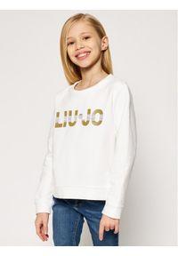 Biała bluza Liu Jo Kids