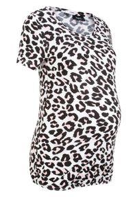 Biała bluzka bonprix moda ciążowa
