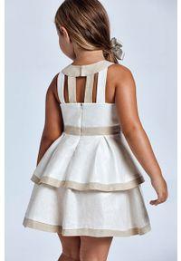 Sukienka Mayoral na ramiączkach, gładkie, rozkloszowana