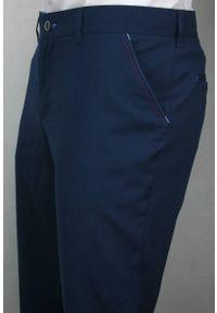 Niebieskie spodnie Casino eleganckie