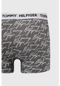 TOMMY HILFIGER - Tommy Hilfiger - Bokserki. Kolor: szary. Materiał: bawełna