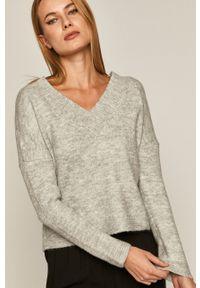 medicine - Medicine - Sweter Herbaria. Kolor: szary. Długość rękawa: długi rękaw. Długość: długie. Wzór: ze splotem