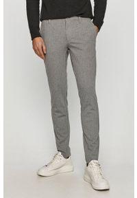 Only & Sons - Spodnie. Kolor: szary. Materiał: tkanina