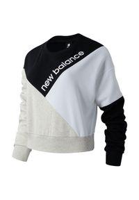 Bluza New Balance casualowa, na co dzień, długa, z długim rękawem