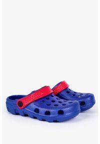 Casu - Niebieskie klapki basenowe piankowe casu dt8503. Kolor: niebieski, czerwony, wielokolorowy