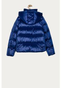 Niebieska kurtka Calvin Klein Jeans z kapturem
